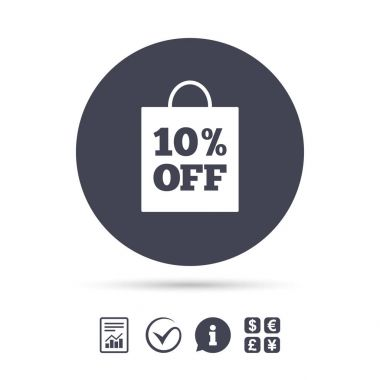 10 percent sale bag tags
