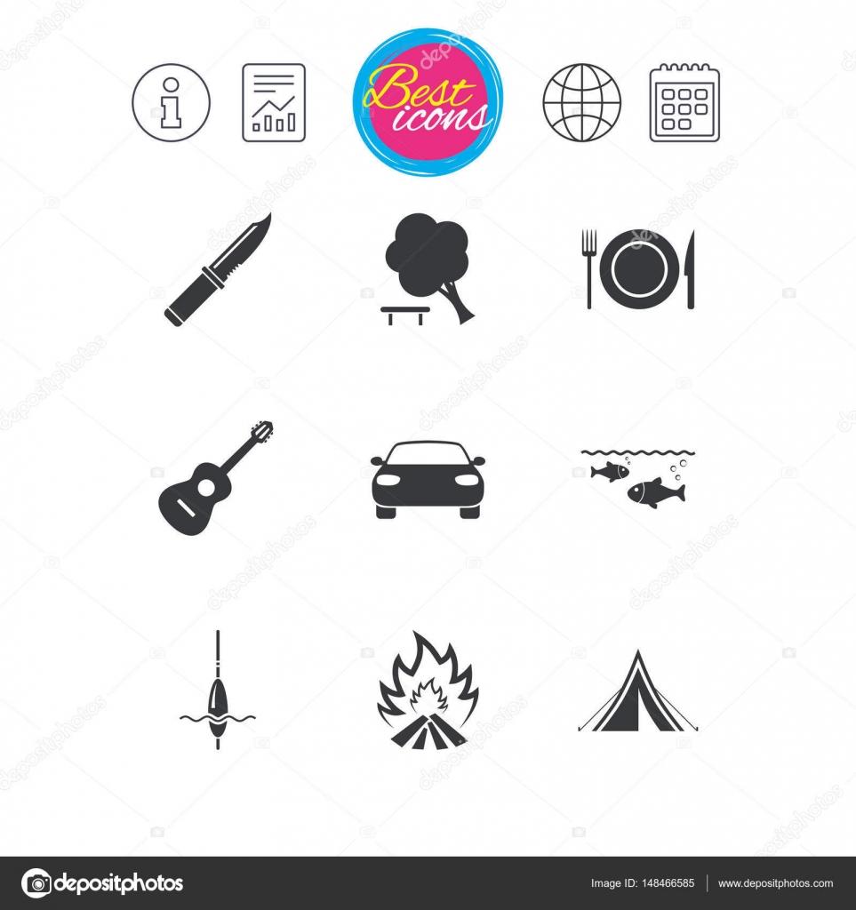 Design Wandlen wandelen trip cing pictogrammen stockvector blankstock