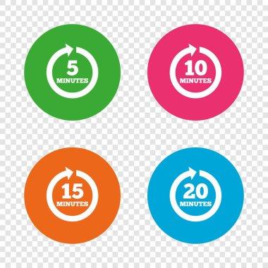 Full rotation arrow symbols