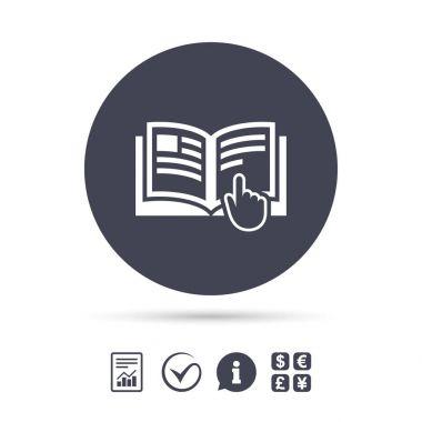 Manual book symbol.