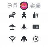 jednoduchý plochý ikony
