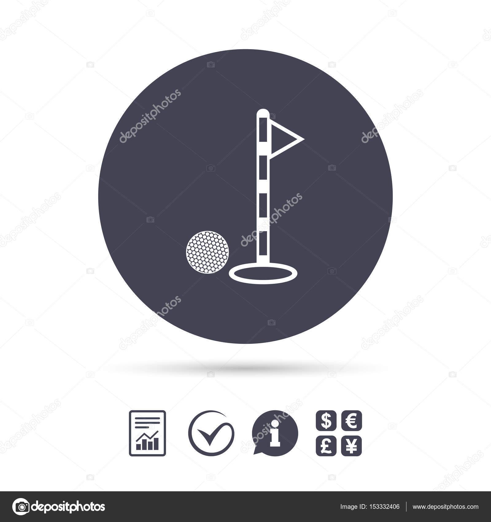 Golf Ball Und Loch Zeichen Symbol Stockvektor Blankstock 153332406 Hole Diagram Schild Sport Dokument Informationen Zu Berichten Tick Symbole Berprfen Wechselstube