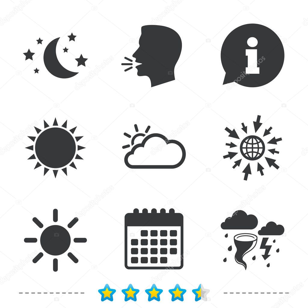 Nature and weather signs