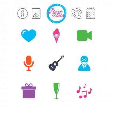 Design of Music icons