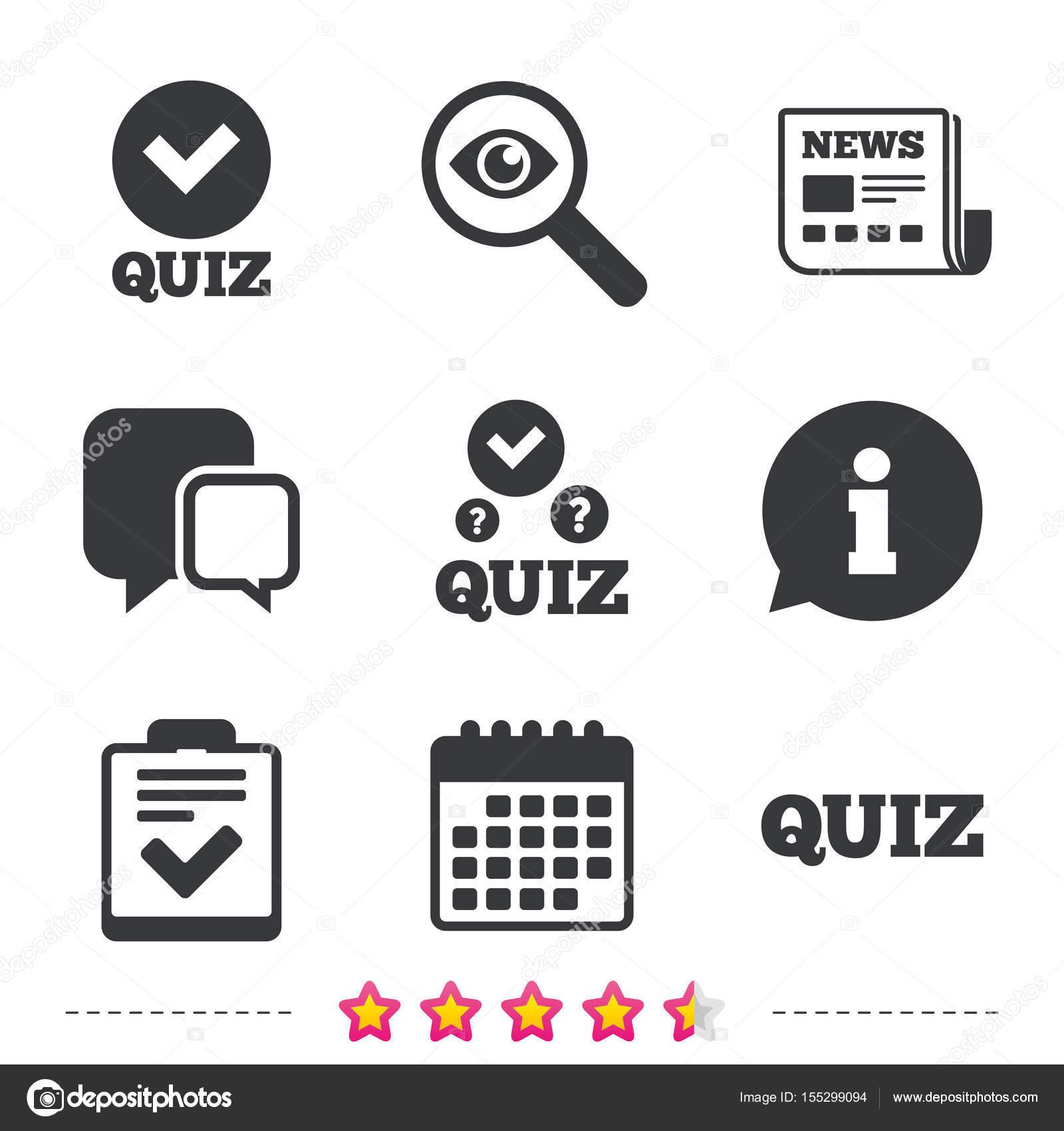 Checklist With Check Mark Symbol Stock Vector Blankstock 155299094
