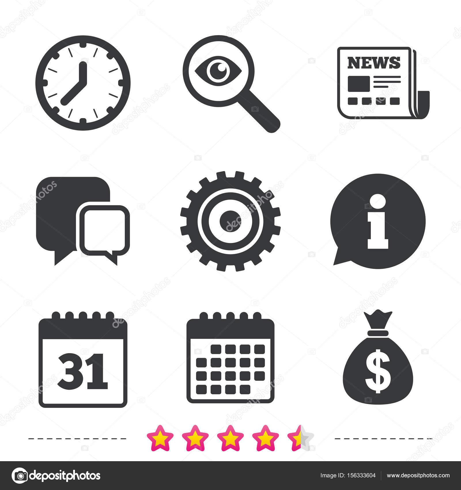 Borsa Calendario.Icone Dei Soldi Borsa Calendario E Usd Vettoriali Stock