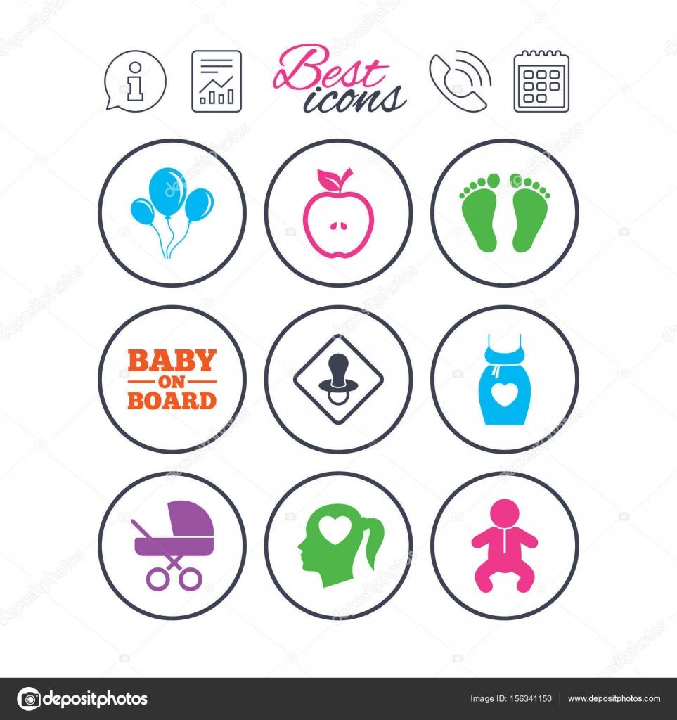 Calendario Maternita.Segni Di Informazioni Di Relazione E Di Calendario