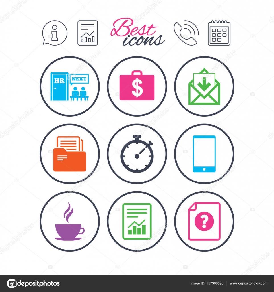 Office Documents Icons Stock Vector Blankstock 157368598
