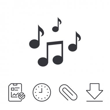 Musical flat icons