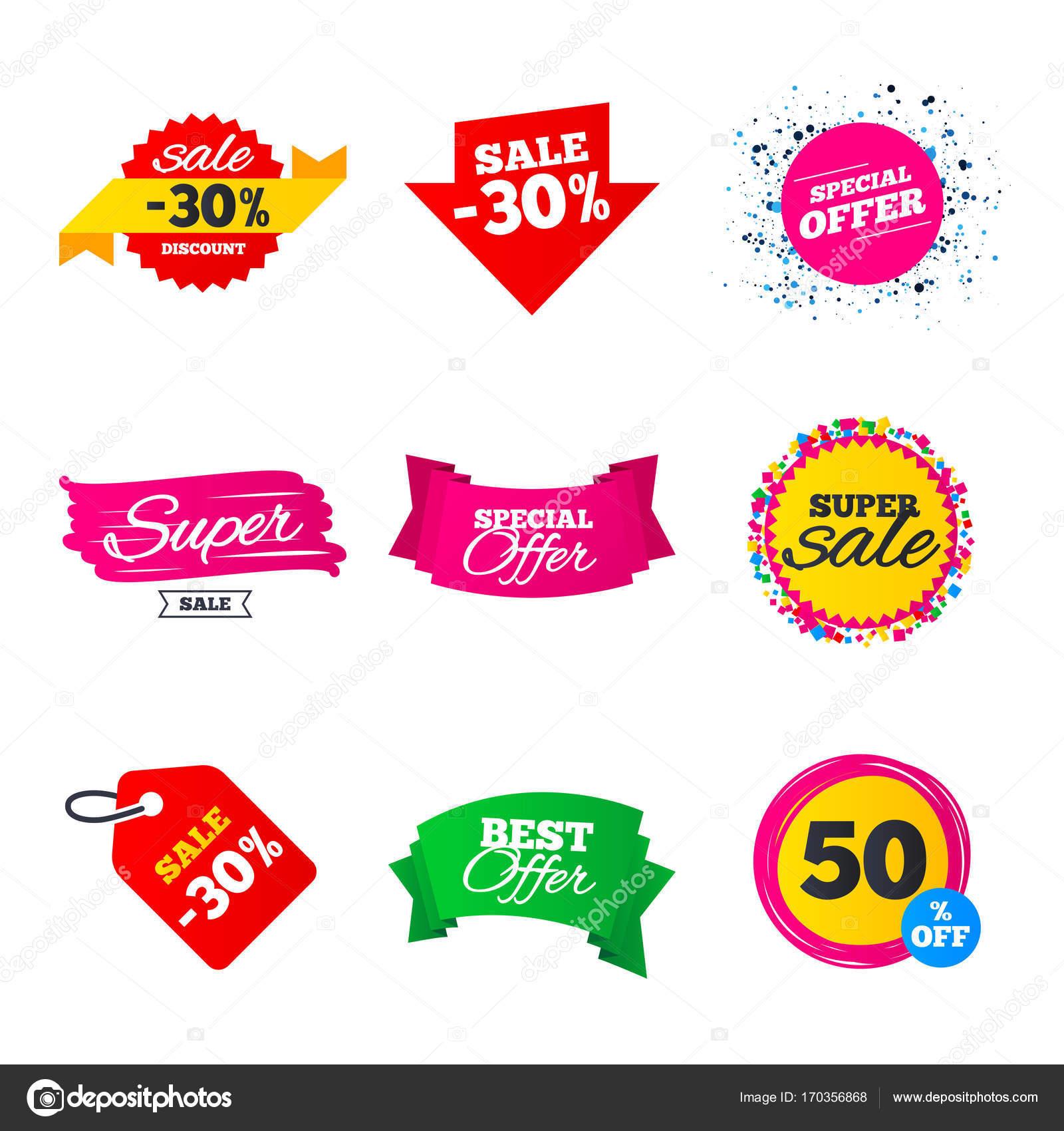 Sale Banner Vorlagen — Stockvektor © Blankstock #170356868