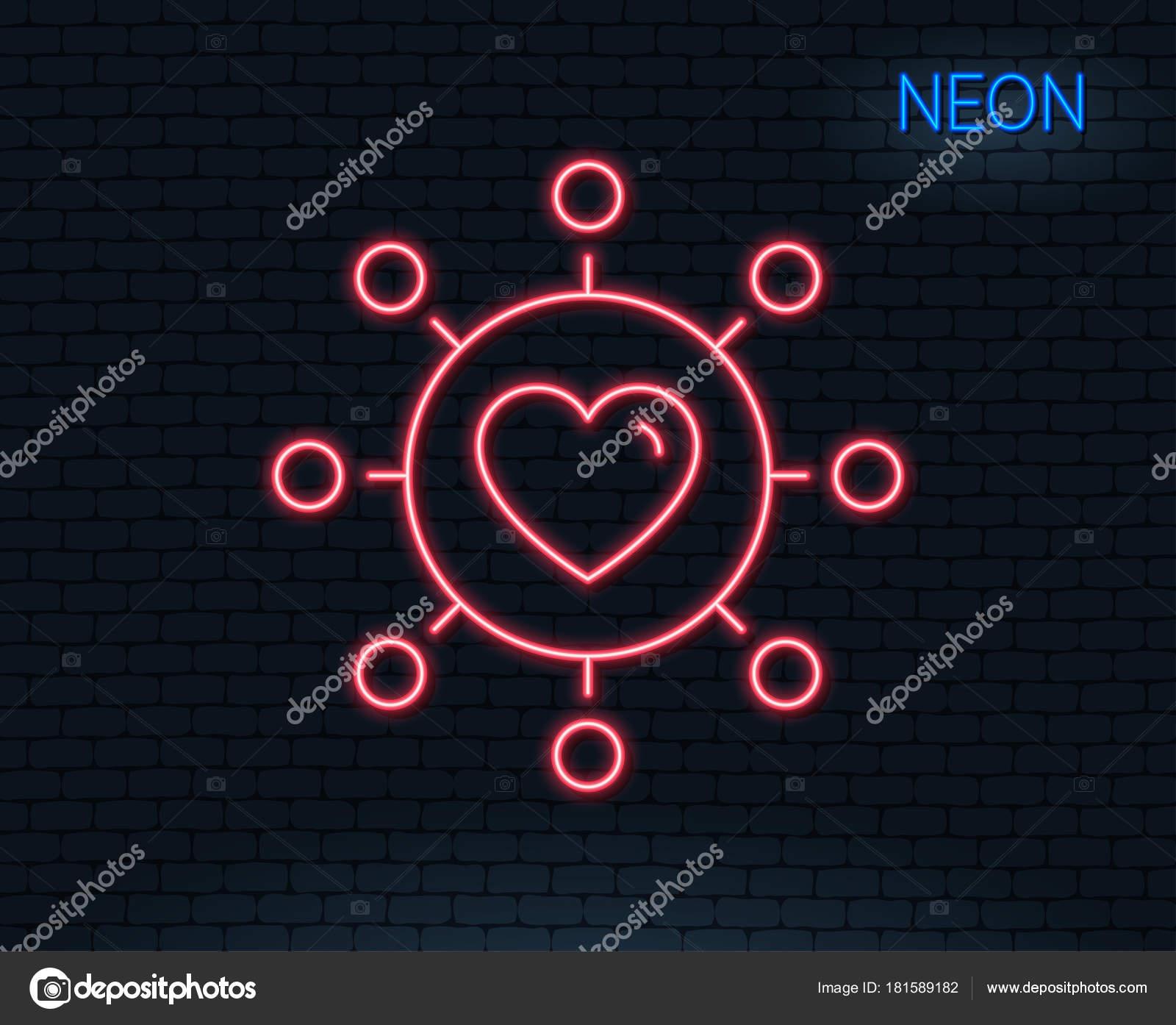 Randění fialové srdce