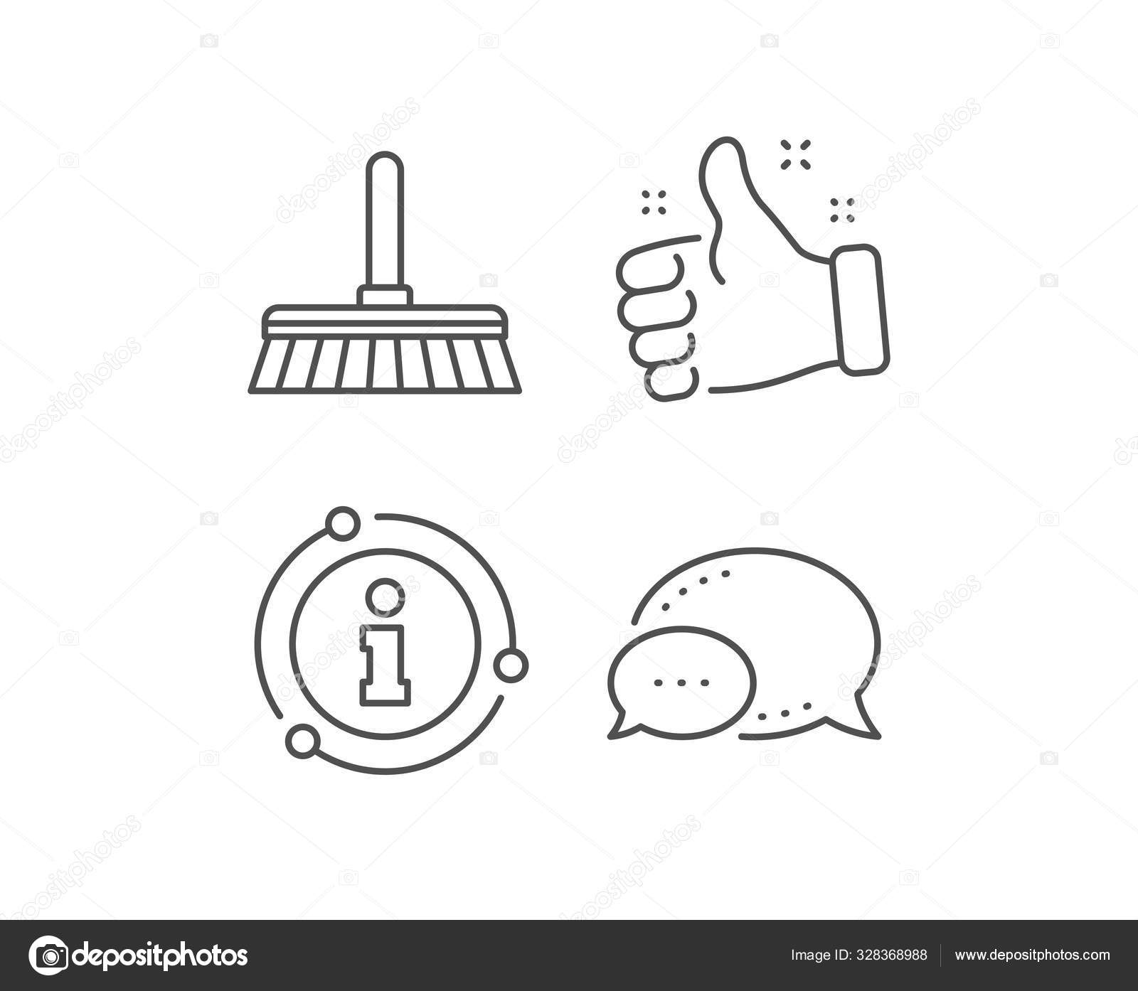 cleaning mop line icon sweep a floor vector stock vector c blankstock 328368988 depositphotos