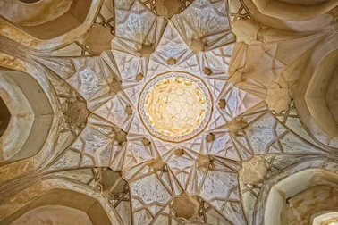 Nain old mosque ceiling