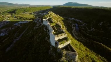 Knin Fortress in Croatia