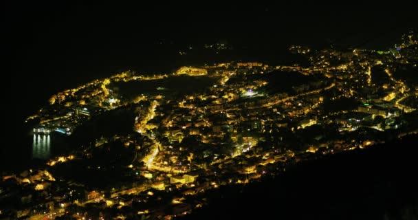 Dubrovnické panorama v noci