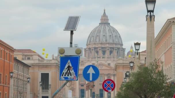 St. Peter square view from Via della Conciliazione