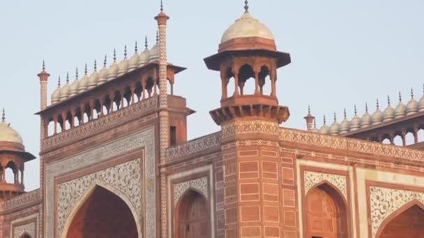 The Taj Mahal entrance, India