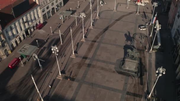 Záhřeb Ban Jelacic náměstí a Ilica ulice