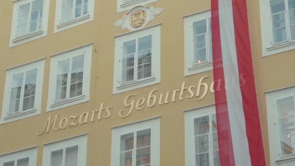Rodný dům Wolfganga Amadea Mozarta v Salcburku Rakousko