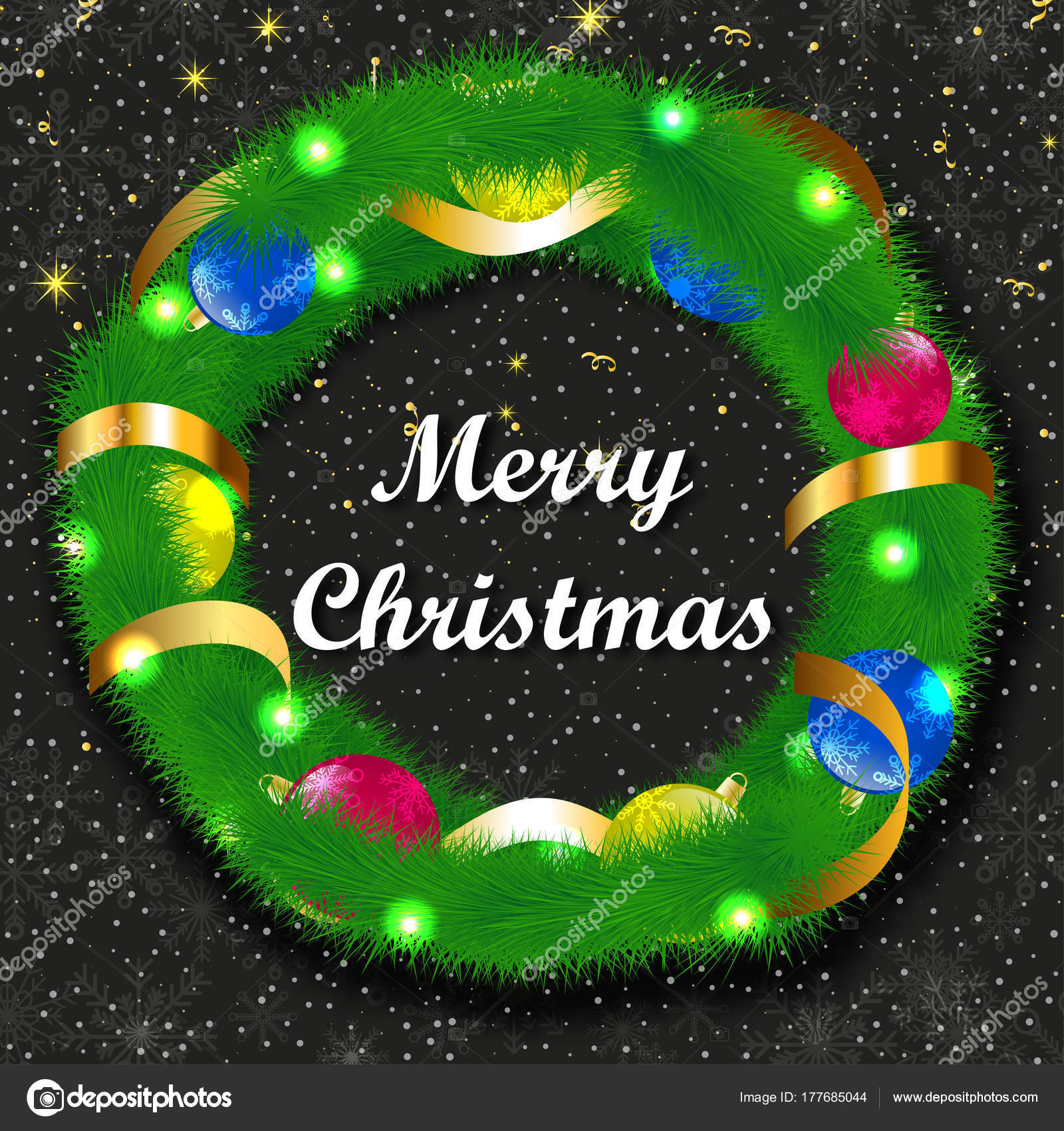 Neues Jahr. Weihnachten. 2018. fest. Urlaub. Herzlichen Glückwunsch ...