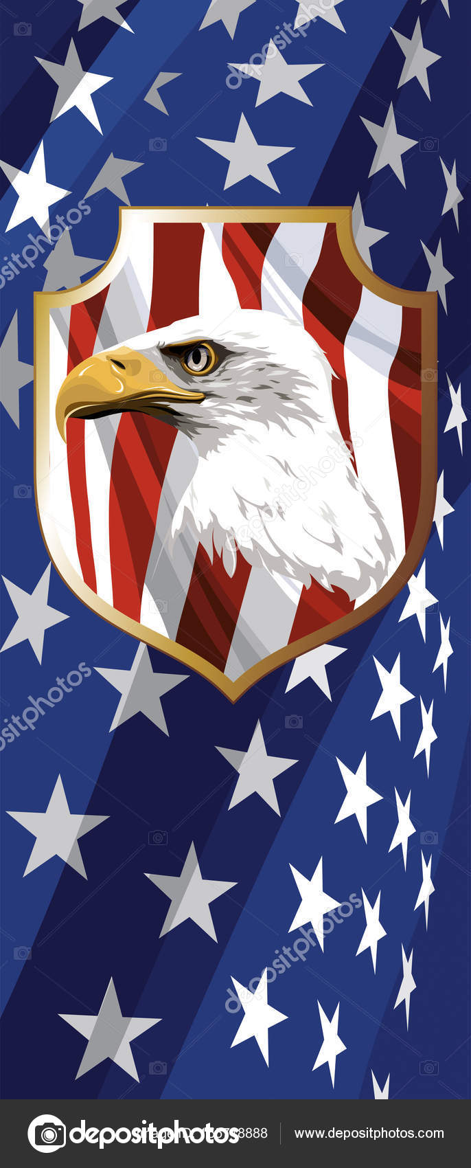 The National Symbol Of The Usa Stock Vector Figura13 155718888