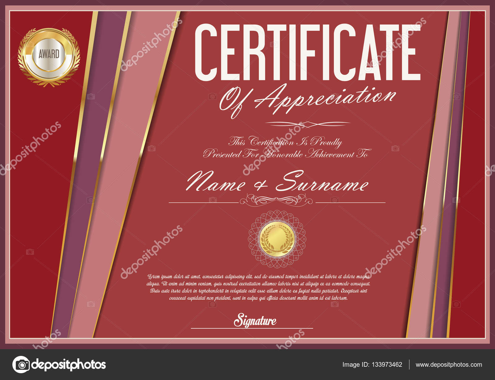 Ziemlich Kostenlose Druckbare Zertifikatvorlage Bilder - Beispiel ...