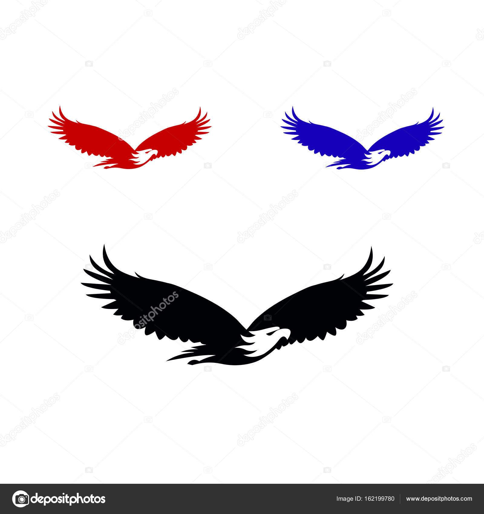 Eagle Vector Logo Template — Stock Vector © DikiyKachap1