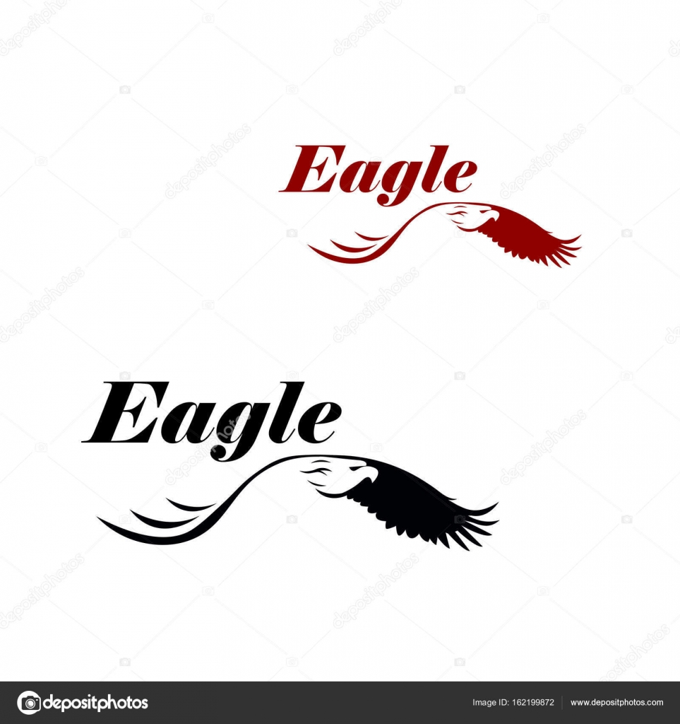 eagle vector logo template stock vector dikiykachap1 162199872