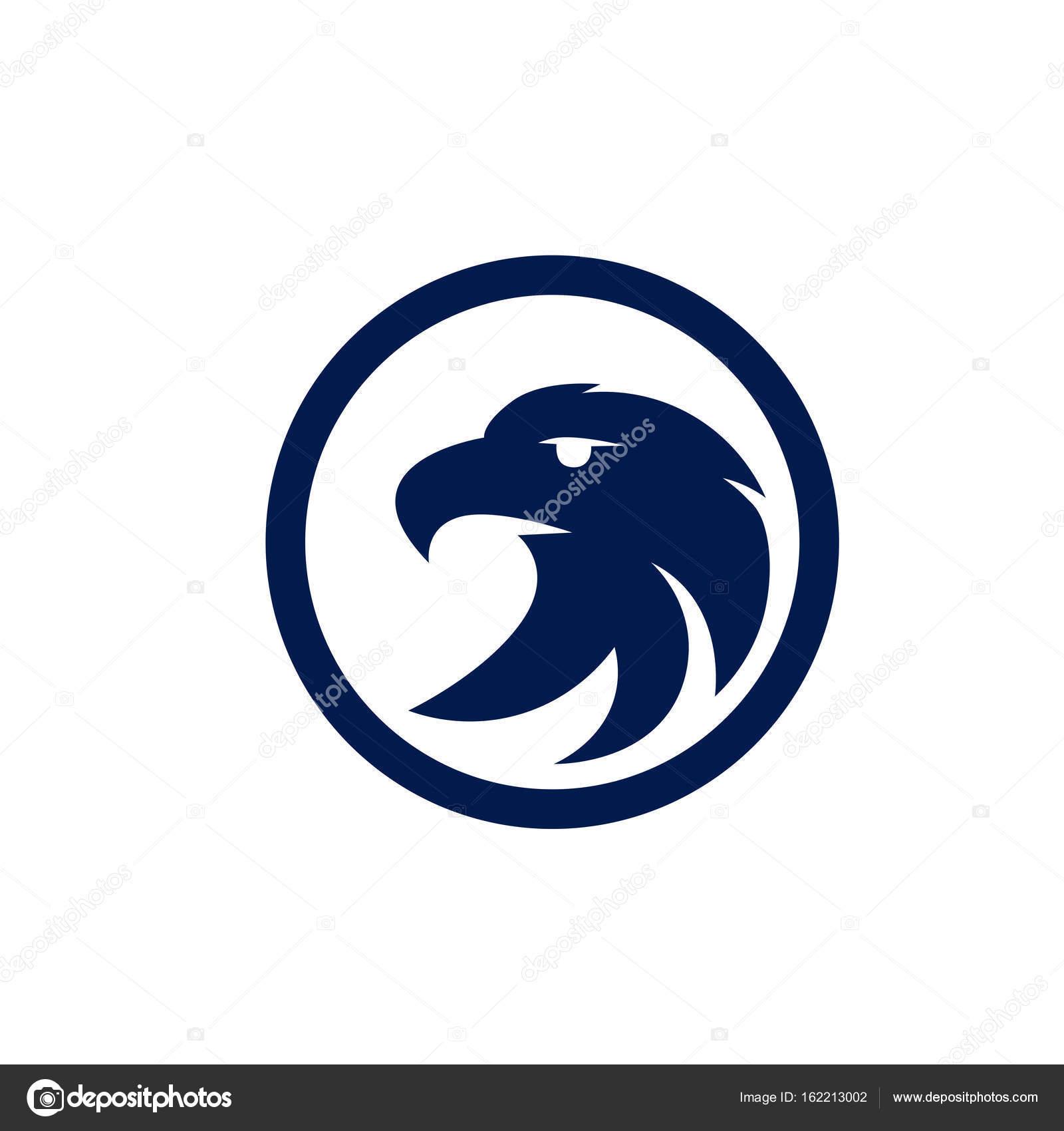 Eagle vector logo template stock vector dikiykachap1 162213002 eagle icon symbol of eagle hawk predator for sport team mascot company badge guard service hunting club label vector by dikiykachap1 biocorpaavc Images