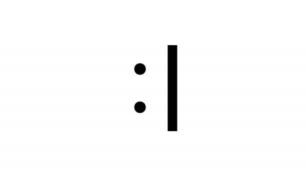 User Types Serious Plain Text Emoticon