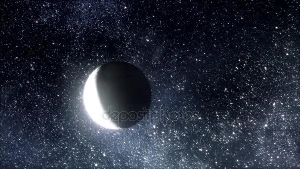 Měsíc a hvězdy / měsíc / měsíc světlo