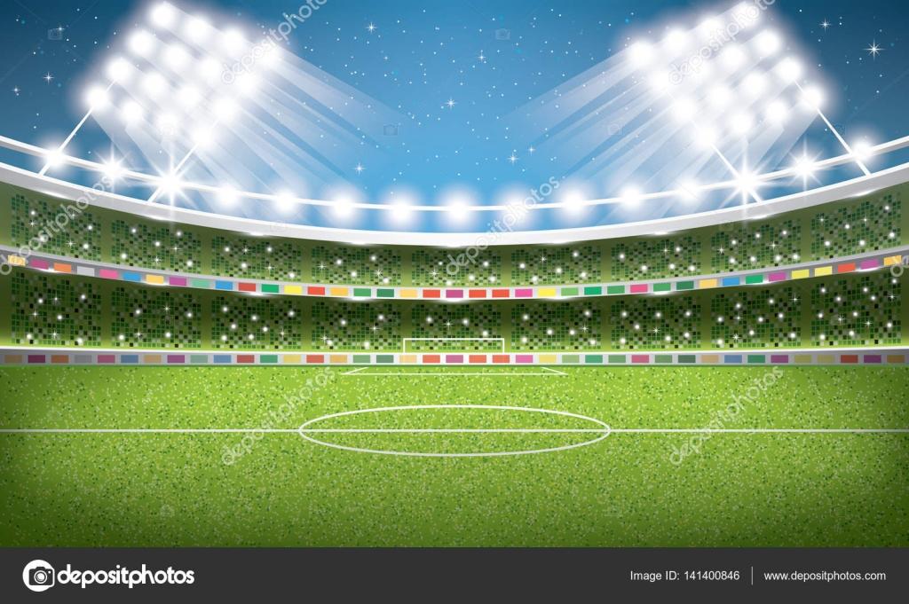 estadio de f u00fatbol campo de f u00fatbol archivo im u00e1genes soccer vector art free soccer vector files