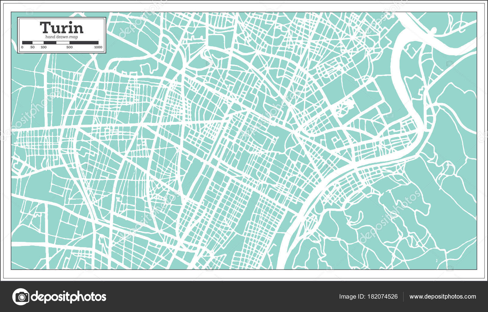 Turin italy city map in retro style outline map stock vector turin italy city map in retro style outline map stock vector thecheapjerseys Choice Image