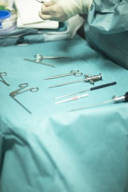 Surgery instrumentation table