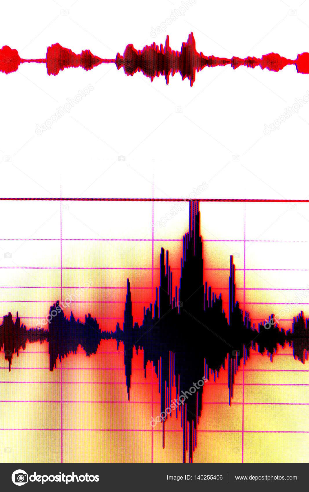 Gravação de áudio de estúdio de som — Stock Photo