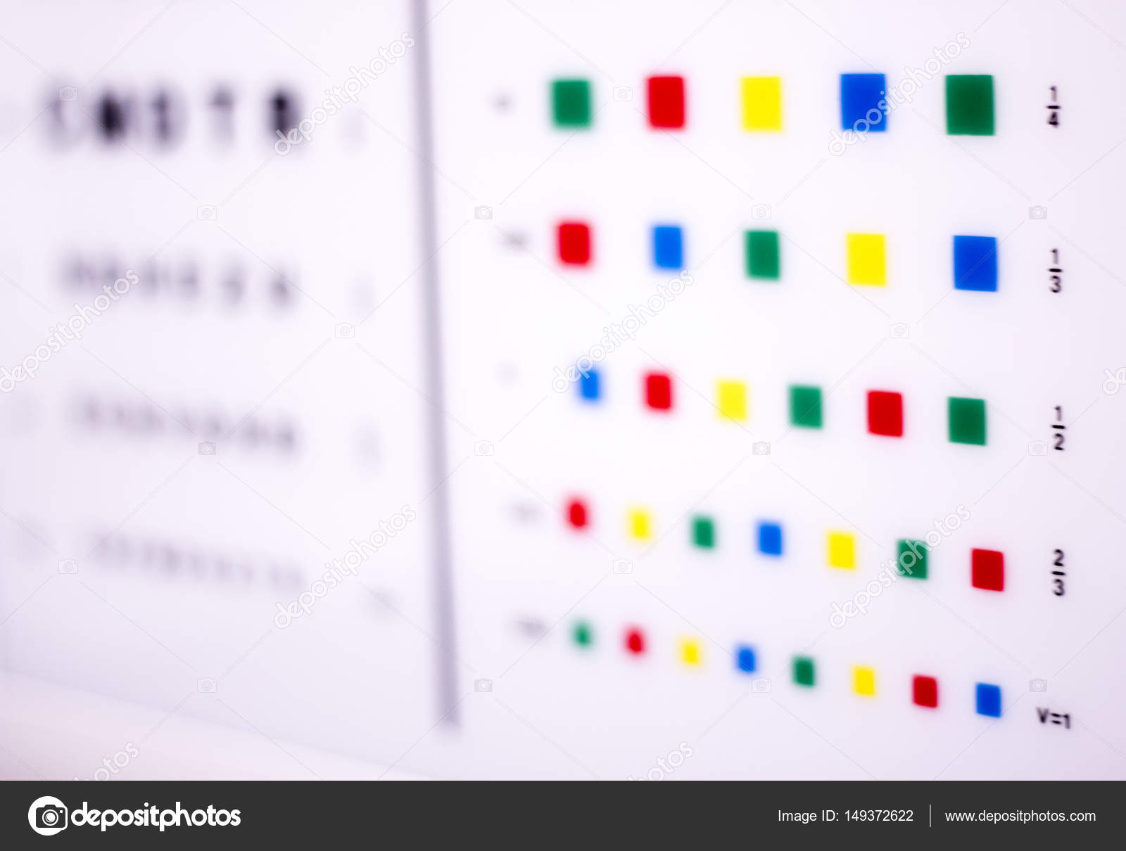 Optician eye test chart stock photo edwardolive 149372622 opticians ophthalmology and optometry eye test chart to test sight and vision for patients with eyesight issues photo by edwardolive geenschuldenfo Image collections