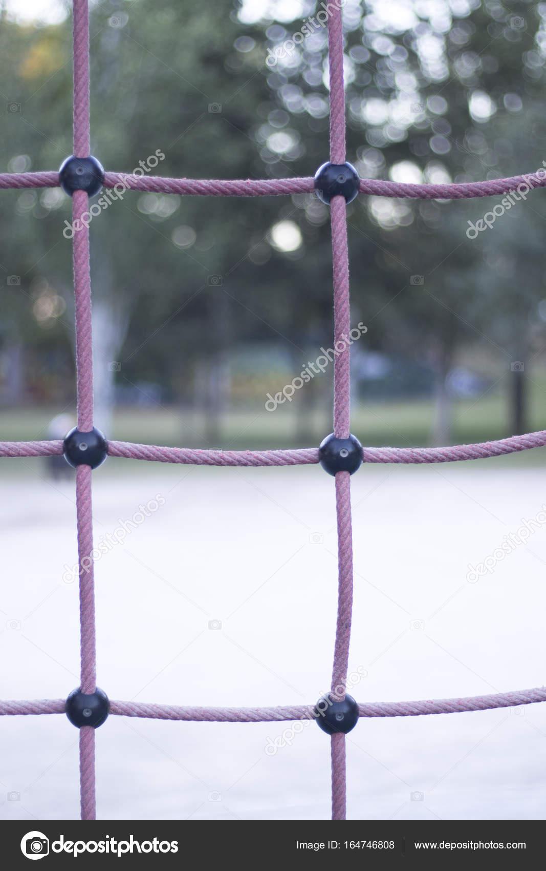 Park-Klettergerüst-Seile — Stockfoto © edwardolive #164746808