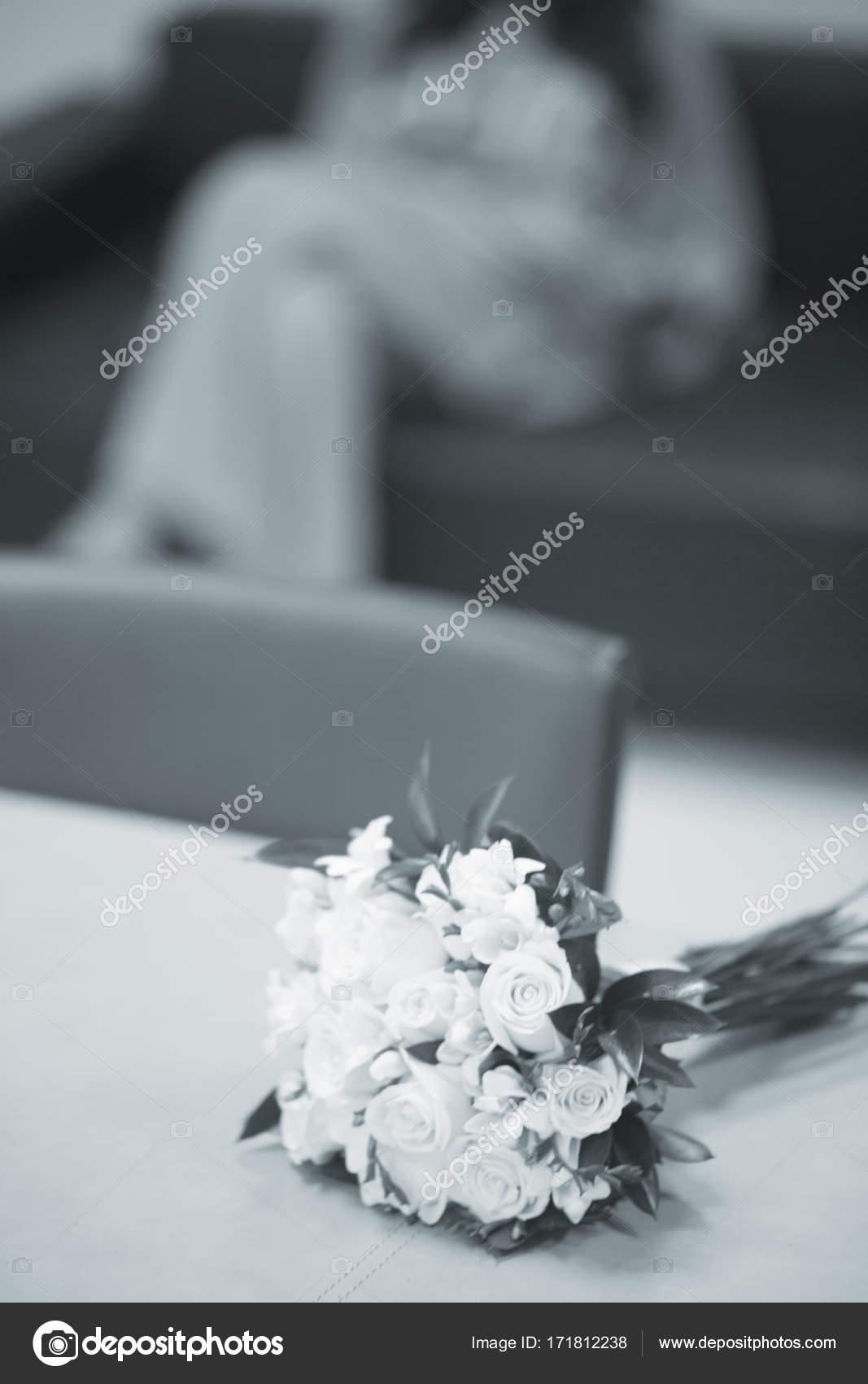Civil wedding bridal bouquet — Stock Photo © edwardolive #171812238
