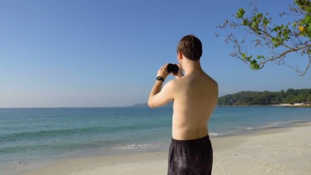 Amatőr Fotós Nyaralás Fényképek Trópusi sziget Strand Digitális fényképezőgép