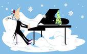 Funny winter concert