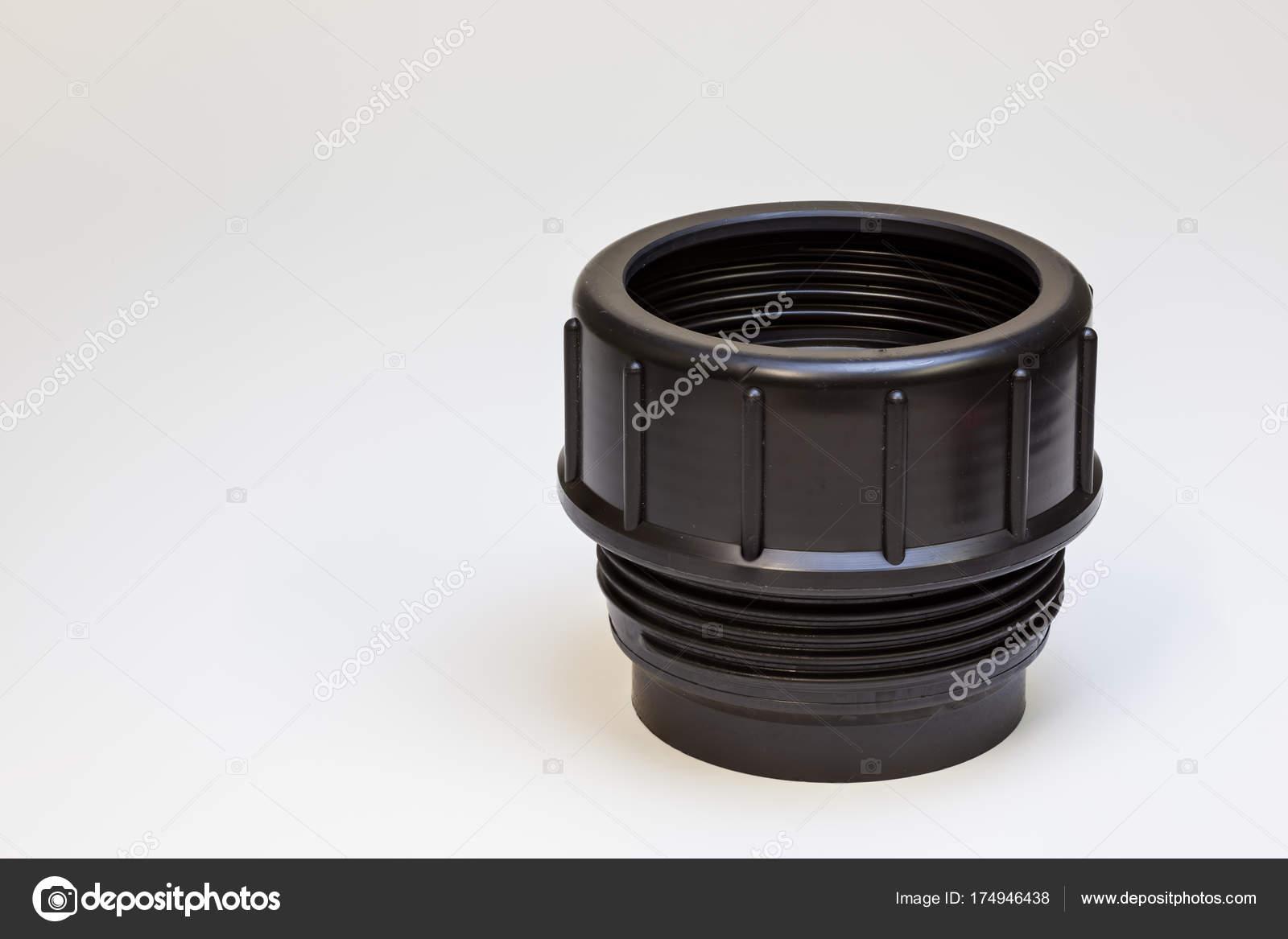 tube connection toilet — Stock Photo © DenBoma #174946438