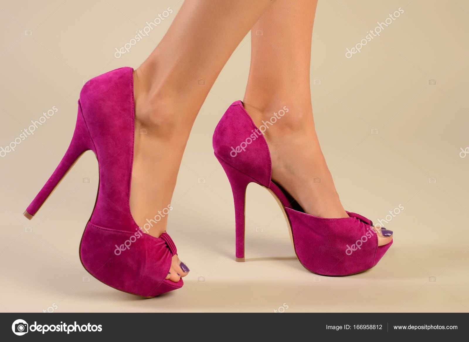 Belleza Piernas Alto Tacón Larga Zapatos Con Sexy Mujer De Moda q75gwA8
