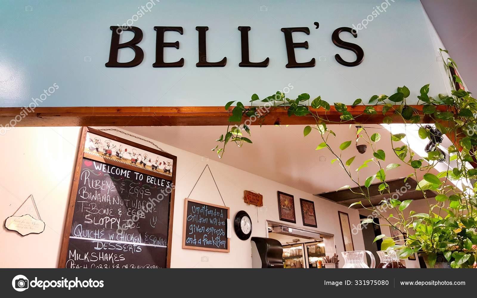 Houston Texas Usa 2020 Belle Kitchen Sign Restaurant Popular Stock Editorial Photo C Stroppy1 331975080