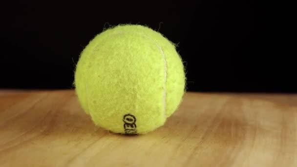 Moskva Rusko září 21 2019 torneo tenisový míček otáčí 360 stupňů