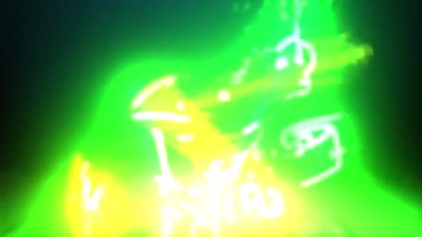 zöld béka koronás videó