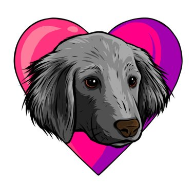 I love dogs vector icon illustration design