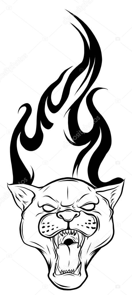 Black Panther Tattoo Design Vector Premium Vector In Adobe Illustrator Ai Ai Format Encapsulated Postscript Eps Eps Format