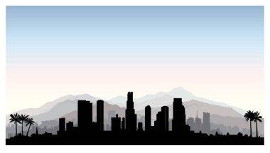 Los Angeles, USA skyline