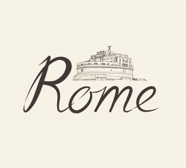 Rome city view.