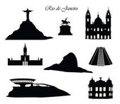Rio de Janeiro město známky